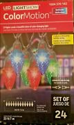 Gemmy Colormotion 24 C9 Bulb Christmas Lights Color Changing In/outdoor Led