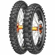 Metzeler Mc360 Mx Bike Tyre Package 80 100 21 54m And 140 80 18 70m Mid Hard