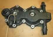 Omc Brp Johnson Evinrude Oem 1989-1992 48-50 Hp Cylinder Head With Thermostat