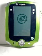 Leap Frog Leappad2 Explorer Green/white Tablet W/case And 2 Games