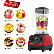 3hp 2200w Commercial Blender Mixer Fruit Juice Food Processor Ice Smoothie Bar
