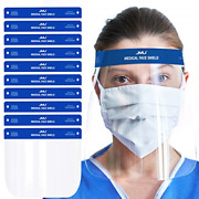Jmu Safety Face Shield10 Pcs Protective Face Shields With Clear Visionanti-fog