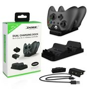 Control For X Box Xbox One X S Controller Stand Gamepad Battery Charger Charging