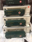 4 Pk Crown.r 3003. And R3005 Railway Express Reefers 60andrsquo 3 Gold. And 1 White
