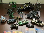 Lego Marvel And Dc Universe Superheroes Sets Vehicles And Mech Only - Lot Of 15