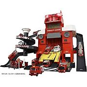Beep And Dispatch Instruction Deformation Fire Station In Tomica Radio