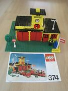 Lego 374 Fire Station From 1978