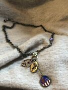 Vintage Lucky Brand Beatles Necklace