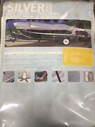 New Attwood Marine Harbor Silver Boat Cover 14and039-16and039 V-hull Runabouts 68 Beam
