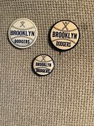 Brooklyn Dodgers Pin / Button / 3 Pins For 1 Price