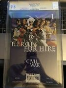 Heroes For Hire 1 - 10/06 Cgc 9.6 1x Signed By Billy Tucci {cgcb1}