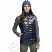 Nwt The Tnf Thermoball Eco Insulated Quilted Puffer Vest - Gloss Blue