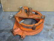 Victaulic Vic Pipe Cut Groover Grooving Ratchet W/ Yoke 8 - Used