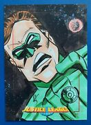 Justice League Of America Jla Archives - Sketch Michael Sellers Green Lantern