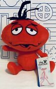 New Pink Panther Red Ant Doll Plush Toy Factory Big Head Stuffed Animal Bug Nwt