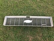 Chevy Pick Up Truck Grill Grille 1973 1974 Front Assembly Chevrolet Bowtie