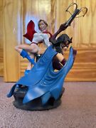 Dc Direct Power Girl And Huntress Legacy Statue