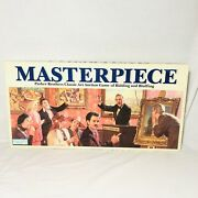 Vintage Rare 1987 Masterpiece Art Auction Board Game Parker Brothers Complete