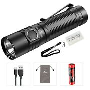 Klarus G15 Flashlight 4000 Lumens Cree Xhp70.2 Led Compact Rechargeable Led T...