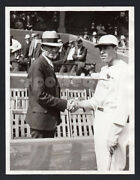 Two-greats 1930's Henry Ford And Cardinals Ace Pitcher Daffy Dean Original Photo