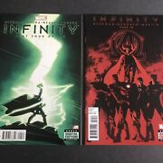 Infinity 4 And New Avengers 10 - 1st Thane Son Of Thanos