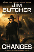 Jim Butcher Changes The Dresden Files 12 Hardcover 1st Edition 1st Print Vg+