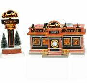 Department 56 Scooterand039s Diner 6003135