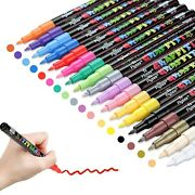 Acrylic Paint Pens For Rock Painting Kit Glasscraftceramic Stonefabricw...