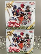2 2020 Topps Box Christmas Mega Box- Relic And Auto - In Hand Sealed