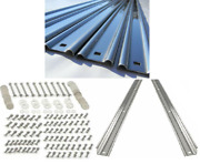 Bed Strip Kit Chevy 1963 - 1966 Polished Stainless Long Bed Stepside For Wood