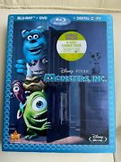 2 Disney Movies - Monsters, Inc. And Up [ Blu-ray/dvd Combo ] No Digital Copy