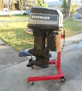 Evinrude 90 Hp Outboard Motor Working And Complete
