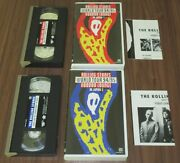 Japan Official Vhs Video X 2 The Rolling Stones Voodoo Lounge Japan Tour 1 And 2