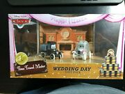 Disney Pixar Cars Time Travel Mater Wedding Day Gift Pack - Lizzie And Stanley