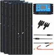 Solar Cell Panel Kit Monocrystalline Silicon Battery Cable Power Source Tool New