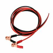 Solar Cable With Alligator Clips For Rechargeable Battery 13 Awg Red Black Wires