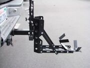 800lb 2 Tow Receiver Trailer Hauler Hitch Mount Rack Motorcycle Scooter Carrier