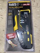 Klein Tools Ratcheting Cable Crimper And Stripper - Vdv226110 Sealed New‼️‼️‼️