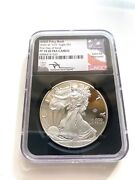 2020 W V75 Silver Eagle Wwii Ngc Pf70 Ucam Mercanti Signed First Day Of Issue