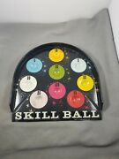 Vintage Metal Pressman Toy Corp.skill Ball Part Great Game Room Wall Hanger