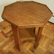 Stickley Furniture - Mission Collection - Octagonal Table