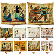 Ancient Egyptian Tapestry Mural Indian Wall Hanging Gypsy Bedspread Home Decor