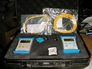 Shunewaytech Stabilized Laser Source Sls-21a-07 And Optical Power Meter Opm-15a