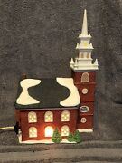 """Dept56 """"old North Church"""" From New England Village Collection 16.00"""