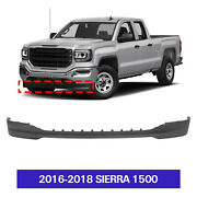 Textured Air Dam Deflector Lower Valance Apron Front For 2016-2018 Sierra 1500