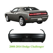 New Primed Rear Bumper Cover For 2008-2014 Dodge Challenger Ch1100934 68039500ac