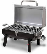 Propane Grill Gas Portable Tabletop Stainless Steel Char-broil Electric Igniter