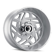 24 Inch 24x14 American Truxx At1904 Cosmos Brushed Wheels 8x6.5 8x165.1 -76
