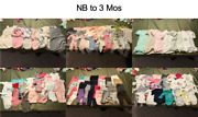 Huge Lot Girl Baby Clothes, 720 Items, Nb Thru 2t, Exc. Cond., 50 Cents Ea