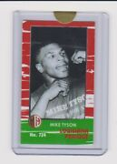 Milllhouse Tobacco Products Super Rare Mike Tyson Mini Card 724 Serial Ed 1/3andnbsp